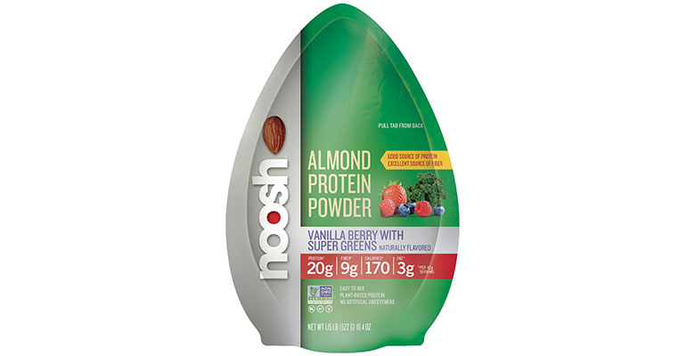 Almond Protein Powder - vanilla berry with supergreens