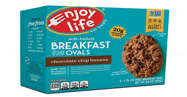Enjoy Life Foods Breakfast Fruit & Oat Ovals