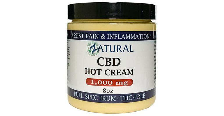 Zatural CBD Hot Cream
