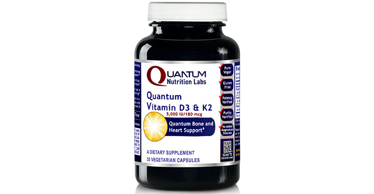 Quantum Nutrition Labs Vitamin D3 & K2