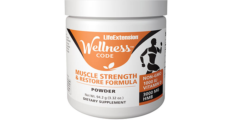 Life Extension Wellness Code Muscle Strength & Restore