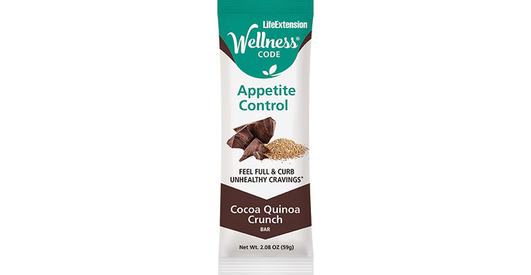 Wellness Code Appetite Control Bar from LifeExtension