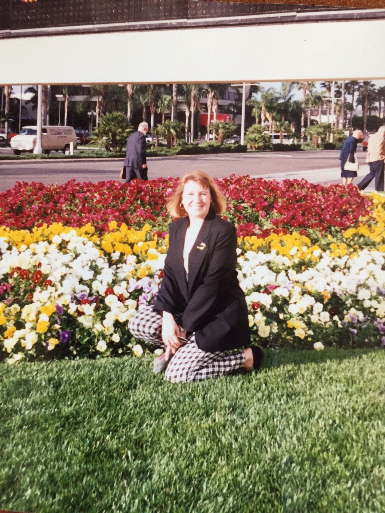 Heather at Expo West 1993