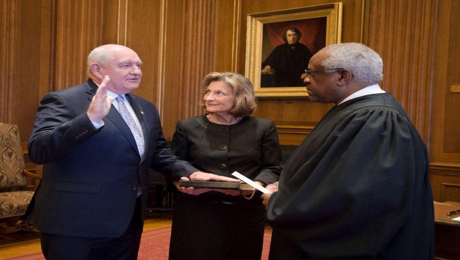Senate Confirms Perdue as 31st USDA Secretary