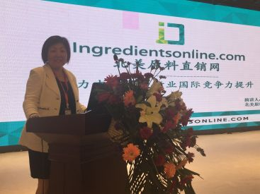 Sherry Wang, IngredientsOnline.com President