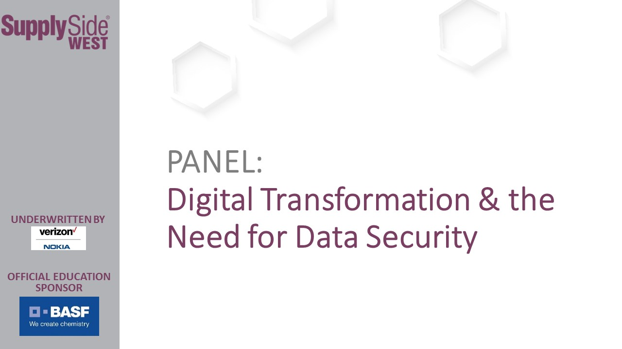 SSW Slide Show: Digital Transformation & the Need for Data Security