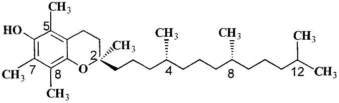 Vitamin E Chemistry
