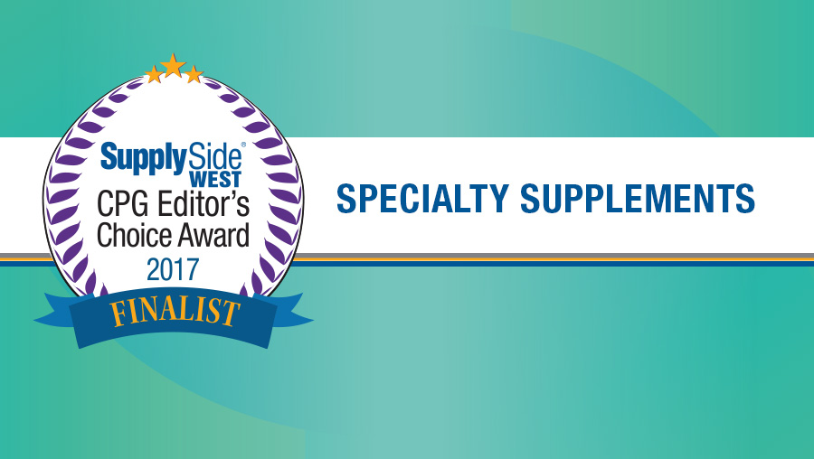 Image Gallery: Specialty Supplement Finalists for 2017 SupplySide CPG Editor's Choice Award