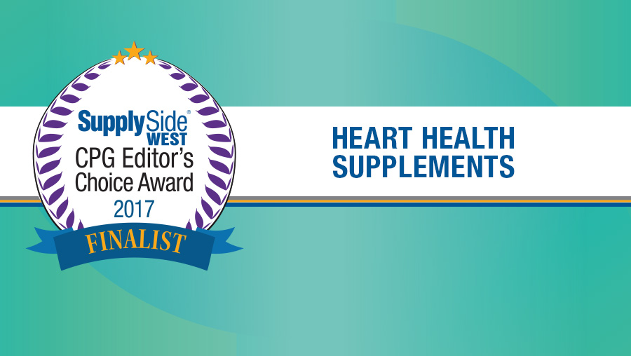 Image Gallery: Heart Health Supplement Finalists for 2017 SupplySide CPG Editor's Choice Award