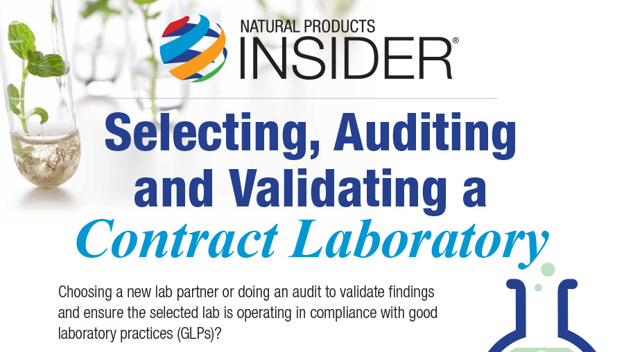 Infographic: Validating a Contract Laboratory