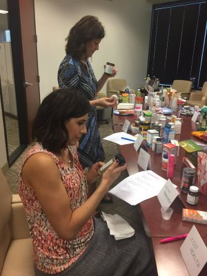 Sandy Almendarez, editor in chief, examines products in the weight management category.