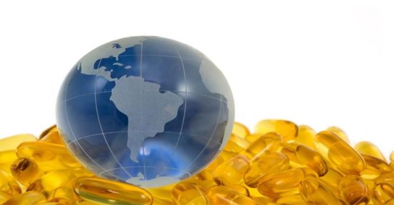 Omega 3 globe image