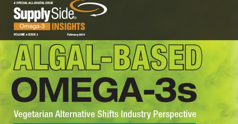 Algal-Based Omega-3s