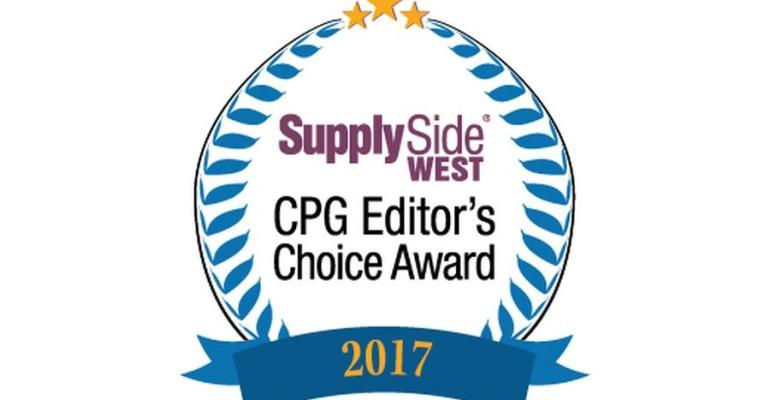 SupplySide Editors Choice Award 2017 logo