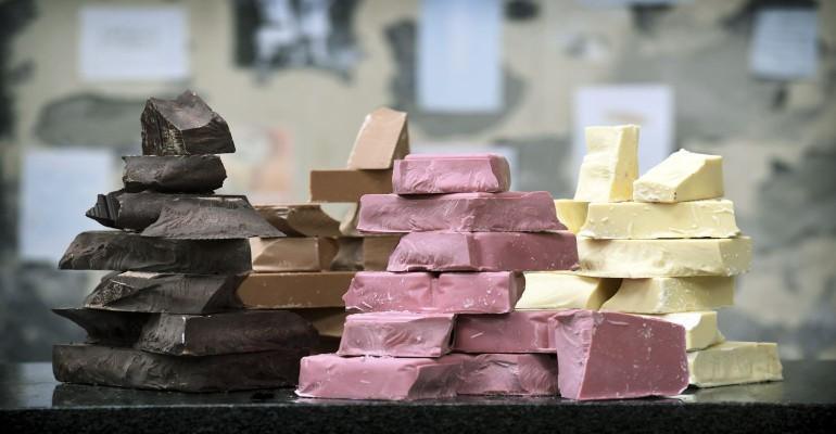 Barry Callebaut ruby chocolate