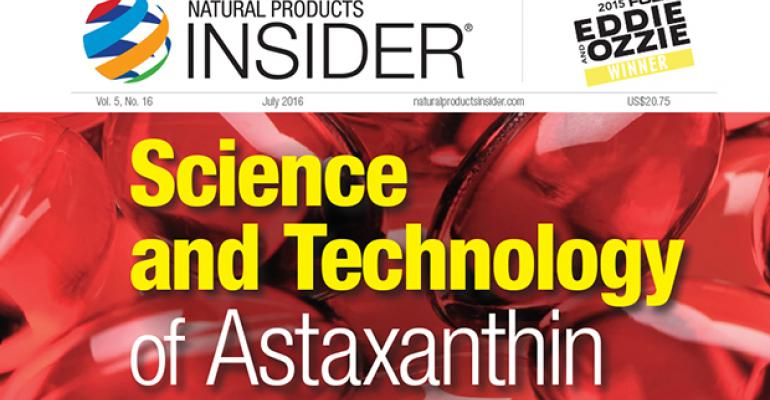 Science and Technology of Astaxanthin