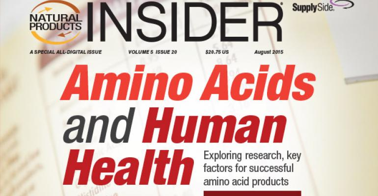 Amino Acids and Human Health