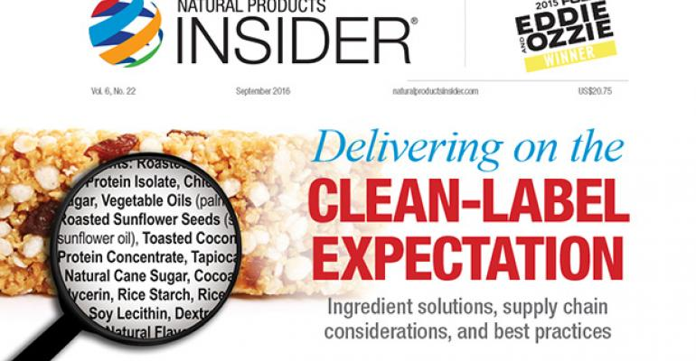Delivering on the Clean Label Expectation: Ingredient solutions, supply chain considerations, and best practices