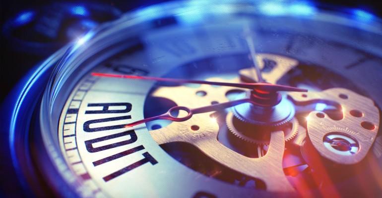 Audit clock.