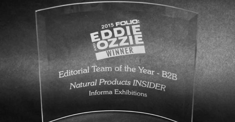 INSIDER Earns Folio:'s B2B Editorial Team of the Year Award