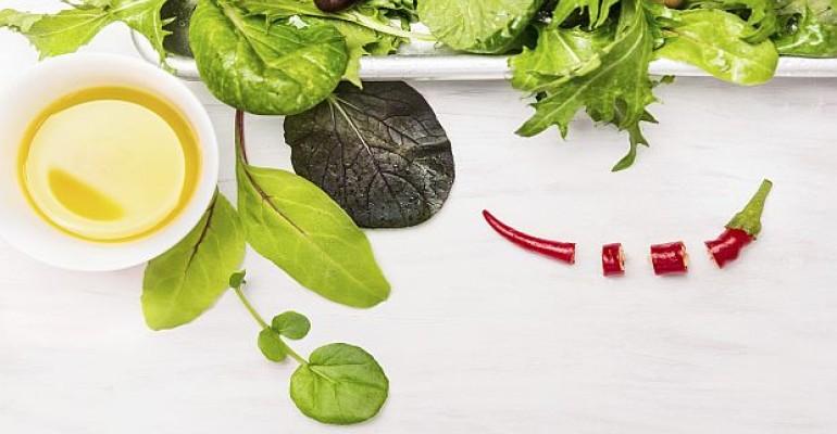 Clean label salad dressings