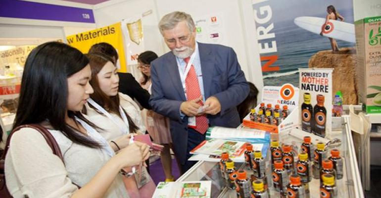 Booth at Vitafoods Asia