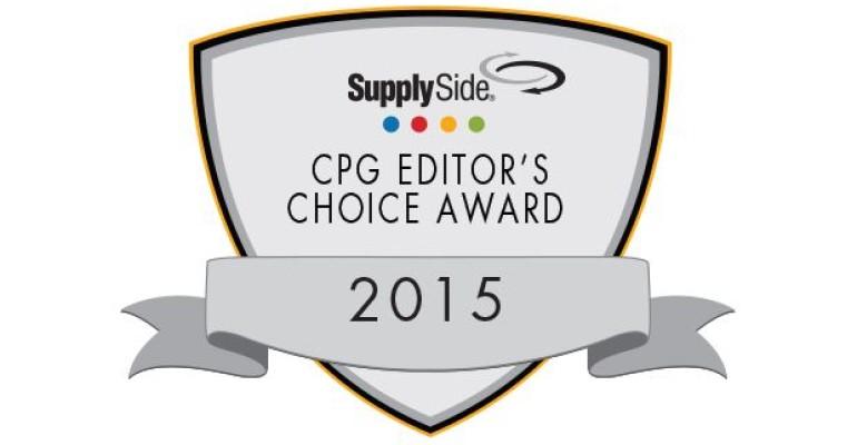 2015 SupplySide CPG Editor's Choice Awards Kicks Off