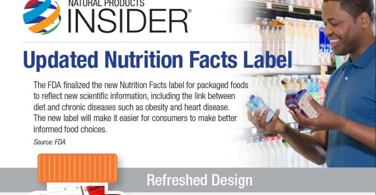 nutiriton label feature
