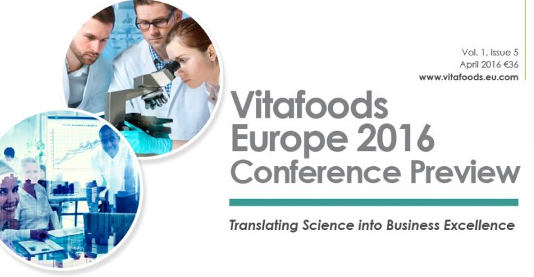 Vitafoods Europe 2016 Conference Preview: Translating Science into Business Excellence