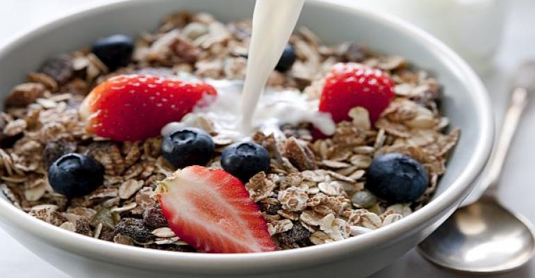 Protein in cereal