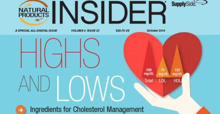 Highs and Lows: Ingredients for Cholesterol Management