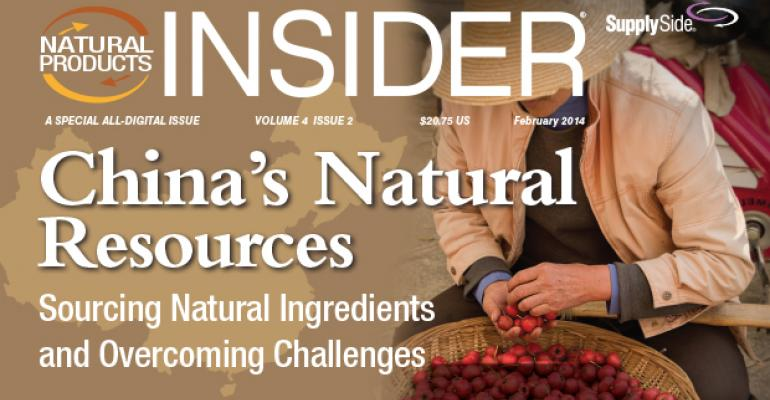 China's Natural Resources: Sourcing Natural Ingredients and Overcoming Challenges