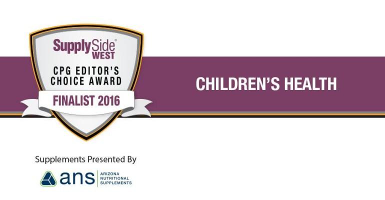 SupplySide West Editor's Choice Awards Children's Health Finalists
