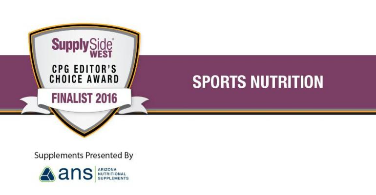 2016 SSW CPG ECA Awards Finalist in sports Nutrition