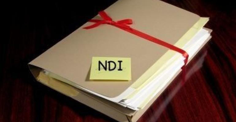 Burden of Proof - NDI Evidence