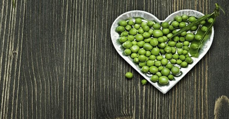 green pea heart health