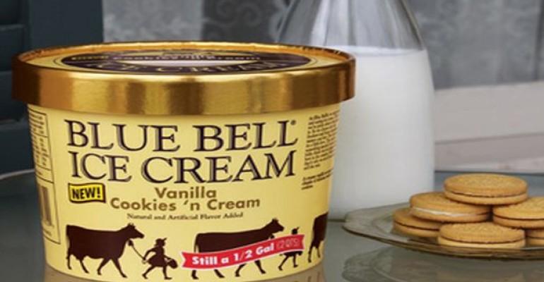 Blue Bell Back on Shelves