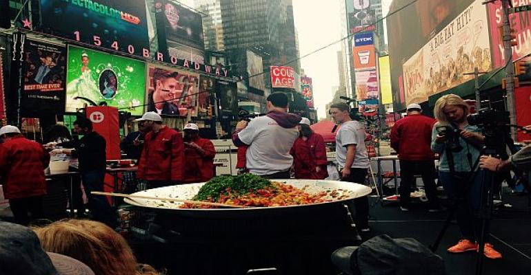 National Tomato Month_LycoRed_Times Square