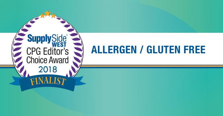 Allergen free gluten free ECA Awards finalists