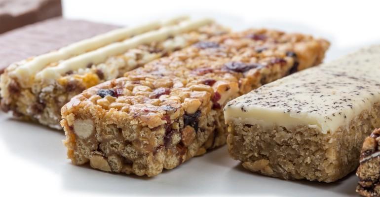 Various Nutritional Bars