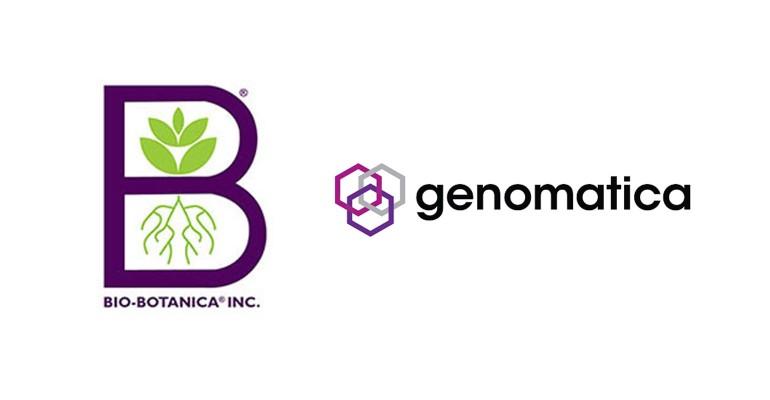 Bio-Botanica & Genomatica Logos