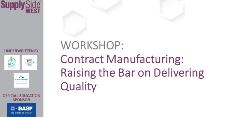 Contract Manufacturing - Raising the Bar on Delivering Quality
