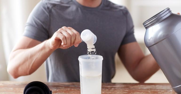 Enzymes Protein Powder Shake