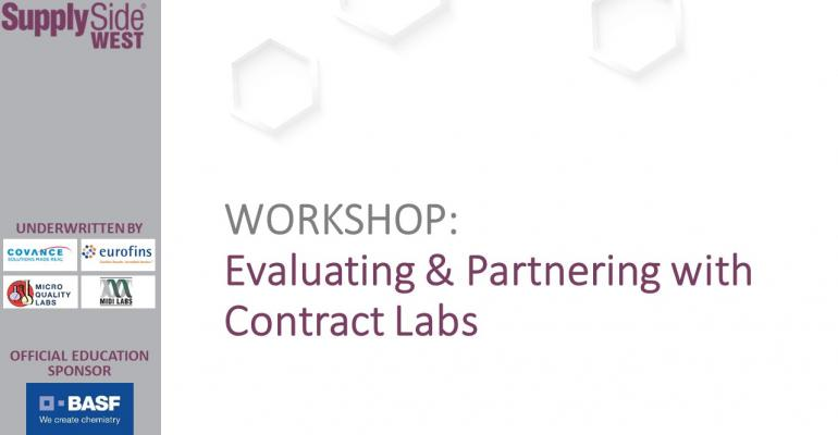Evaluating and Partnering with Contract Labs