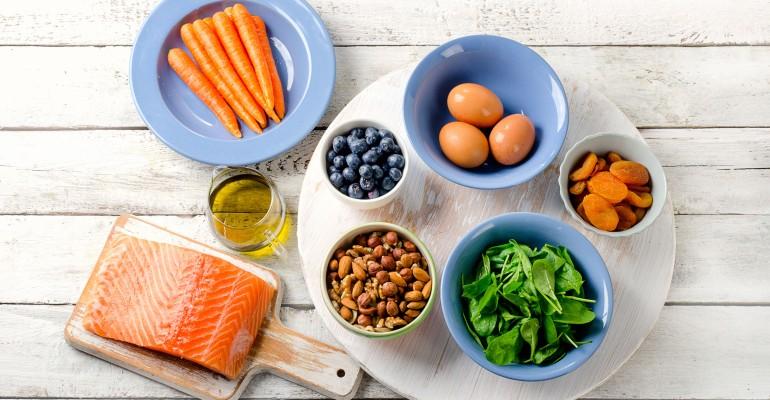 Various Eye Health Foods
