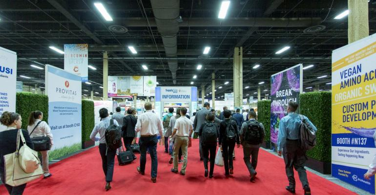 Food Ingredients North America trade show to debut at SupplySide West in 2019