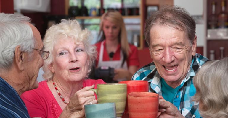 Older People In Group