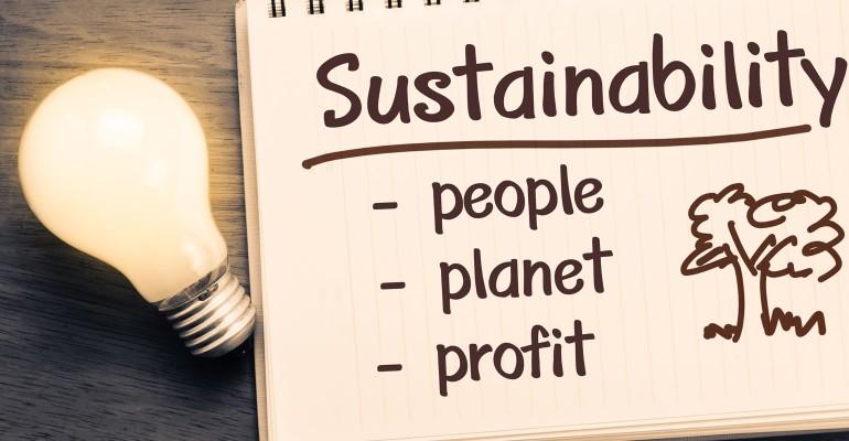 Sustainability Notebook - People, Planet, Profit