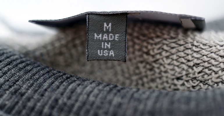 Made in the USA Tag