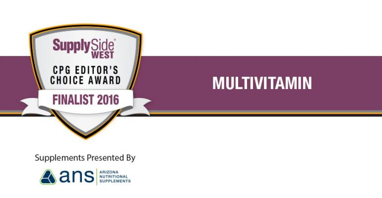 Image Gallery: Multivitamin Finalists for 2016 SupplySide CPG Editor's Choice Award